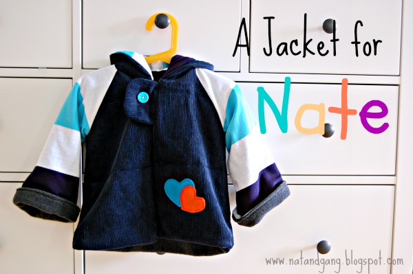 A Jacket for Nate by Natalie at La gang à Nat - sewing for boys