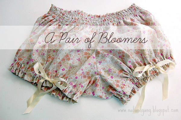 Colette Pattern Bloomers   www.natandgang.blogspot.com