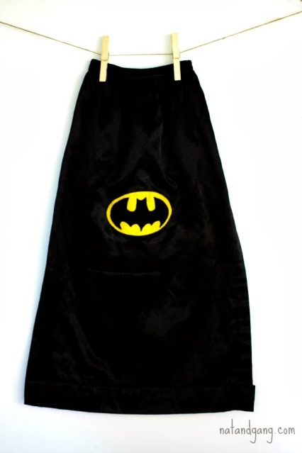 Batman Costume for Halloween:  natandgang.com