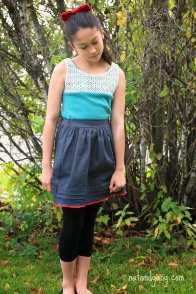 Secret Squirrel and Kids Clothes Week:  natandgang.com
