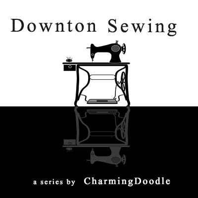 Downton Sewing square