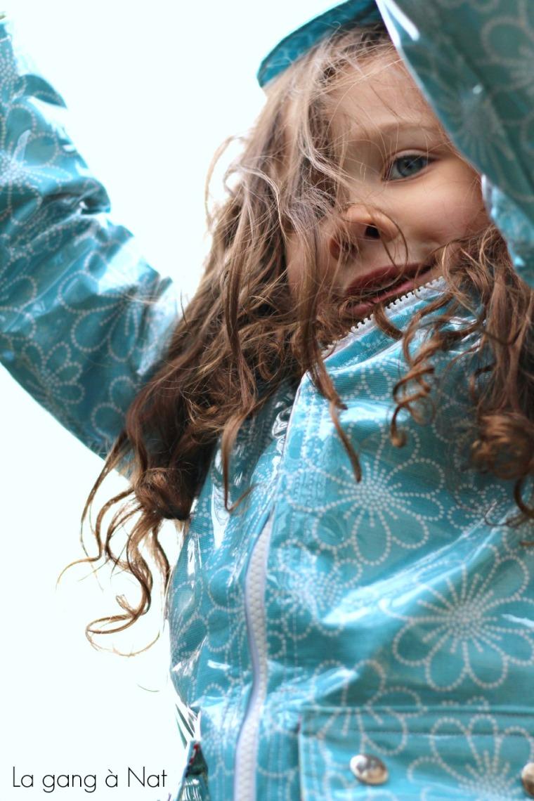 Sprint Showers Jacket - A Pattern by Elegance & Elephants, Sewn by La gang à Nat