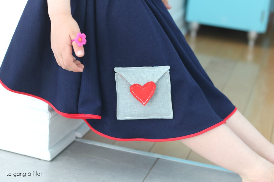 Fashionable Type Je t'aime Skirt2