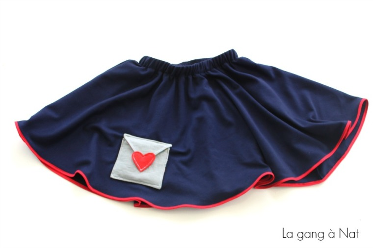 Fashionable Type Je t'aime Skirt5